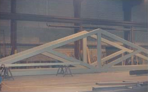 steel trusses and girders