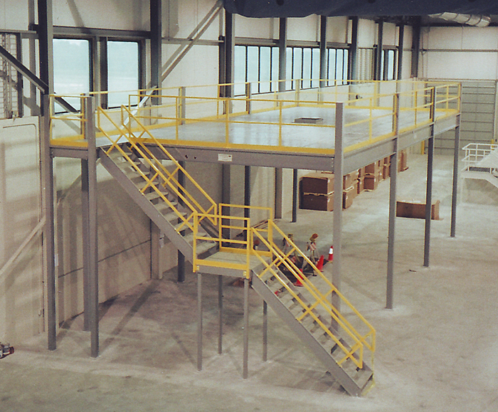 Steel mezzanines for Steel mezzanine design